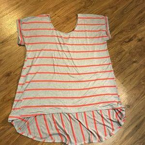 Pure good striped shirt